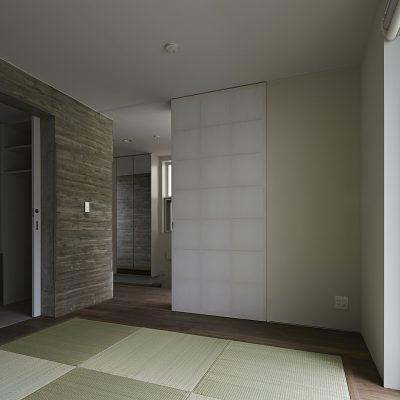 大分七島藺畳の和室